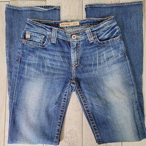 Big Star Maddie Mid Rise Boot Cut Jeans 27L